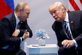 خنجر از پشت پوتین به ترامپ