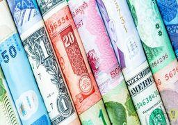 ۱۵ ارز در بازار بین بانکی ارزان شدند + جدول