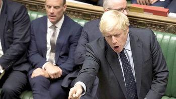 شکست سنگین جانسون در روزهای استثنایی پارلمان
