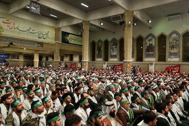 تصاویر دیدار هزاران نفر از بسیجیان با مقام معظم رهبری