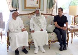 اولین حضور علنی حاکم امارات از پنج ماه قبل