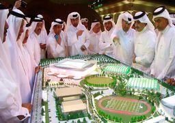 ساخت استادیوم قابل حمل برای جام جهانی فوتبال ! +عکس
