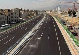 فیلم   منطقه یک آزادراه تهران - شمال با حضور رئیس جمهور افتتاح شد