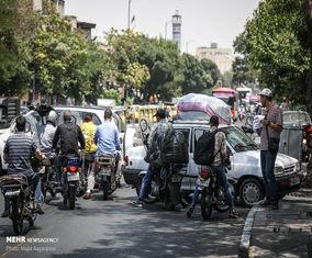 شهر بیقانون موتورسیکلتها | تصاویر