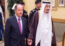 درخواست عربستان از رئیس اقلیم کردستان عراق