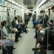 شلوغی مترو تهران بدون رعایت فاصلهگذاری اجتماعی +عکس
