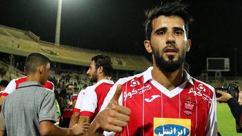 بازیکن پرسپولیس در کنار محمد صلاح لیورپولی +عکس