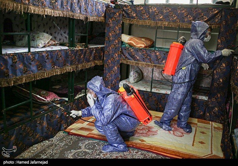 تصاویر: ضد عفونی ندامتگاه تهران بزرگ