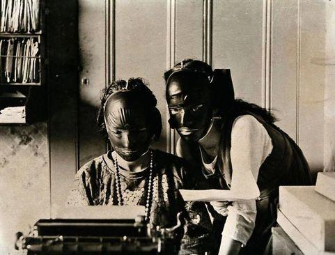 ماسکهای ضد چین و چروک؛ ۱۹۲۰