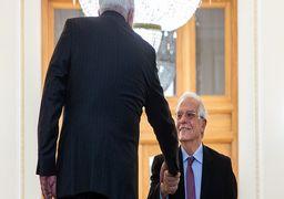 اولین دیدار بورل و ظریف در تهران