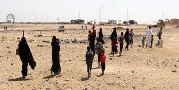 آمریکا فراریان از داعش را بمباران کرد