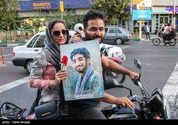 آماده سازی خودرو حمل پیکر شهید محسن حججی + عکس
