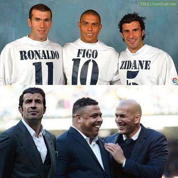 سه فوتبالیست افسانه ایی در گذر زمان +عکس