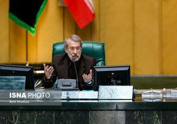 فیلم | لاریجانی: دولتمردان امریکایی به جای دلسوزی برای مردم ایران فکری برای دهان ترامپ کنند