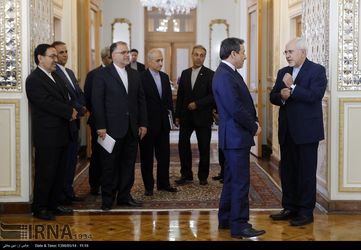 تصاویر دیدار ظریف و موگرینی در تهران