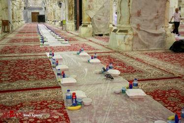 افطاری در حرم حضرت زهرا(س)18