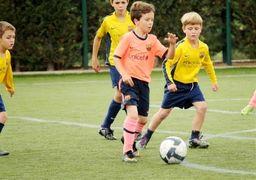 مراقبت از سر کودکان فوتبالیست