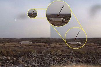 تصویر موشک قیام آماده شلیک از سیلوی زیرزمینی سپاه پاسداران