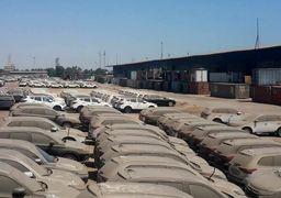 خودروهای خوابیده در گمرک از 10 هزار دستگاه گذشت + عکس