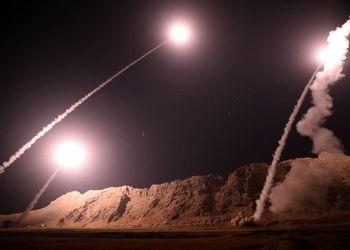 منبع آمریکایی: حمله موشکی ایران حداقل 20 کشته و مجروح به جا گذاشت