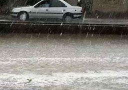 فیلم بارش تگرگ در سلماس