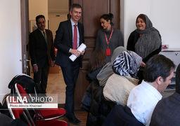 تصاویر نشست خبری «مارکوس لایتنر» سفیر سوئیس در تهران