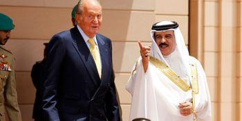 رشوه دادن پادشاه بحرین به اسپانیا فاش شد