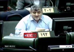 فیلم شعرخوانی دلخوش برای لاهوتی در مجلس؛ از دست تو چرچیل به تنگ آمده است!