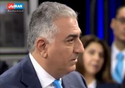 ادعای رضا پهلوی درباره ارتباط با بسیج!+فیلم