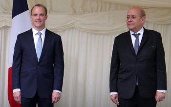 رایزنی وزرای خارجه انگلیس و فرانسه درباره ایران