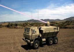 دسترسی ارتش آمریکا به اولین سلاح لیزری پرقدرت +عکس