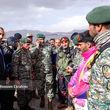 کلاه سبزهای ارتش در حال تجسس لاشه هواپیما و یافتن پیکرها + عکس