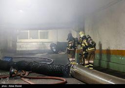 آخرین وضعیت/ مهار آتش در ساختمان وزارت نیرو