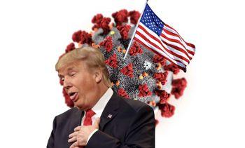 کرونا ۱۰۰هزار آمریکایی را کشت، رئیسجمهور همچنان در حال گلفبازی است