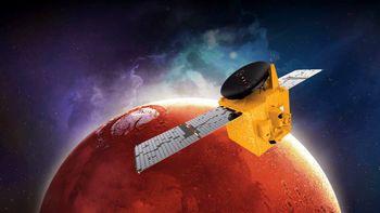 آغاز سفر فضاپیمای امارات به مریخ