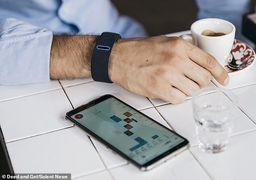 استفاده از انگشت دست به جای گوشی موبایل !