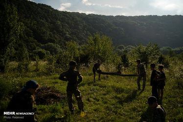 کمپ آموزش نظامی کودکان اوکراینی