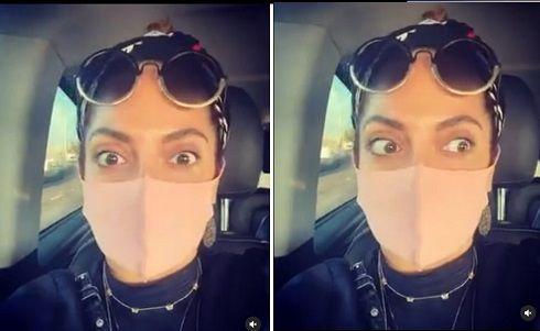 ویدئو رانندگی مهناز افشار در آلمان