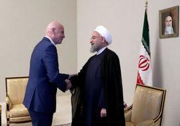 دعوت از روحانی برای حضور در افتتاحیه جام جهانی فوتبال