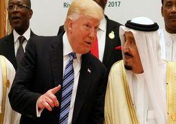 ترامپ: سعودیها کودن هستند/به پادشاه گفتم اگر ما نباشیم ایران دوهفتهای عربستان را میگیرد