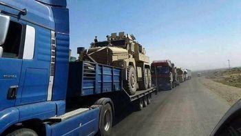 ارسال تجهیزات نظامی جدید آمریکا به حسکه