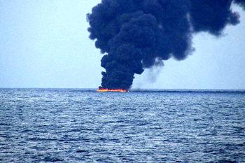 جستجوی مفقودان حادثه نفتکش سانچی ادامه دارد