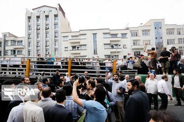 تصاویر مسئولان عالیرتبه کشور در راهپیمایی روز قدس