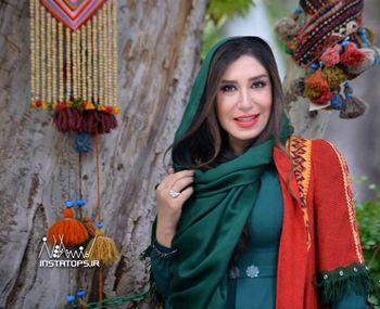 بازیگر زن سینمای ایران با چهره ایی متفاوت روی جلد رسانه انگلیسی +عکس