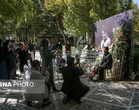 گزارش تصویری از آرامگاه محمدرضا شجریان