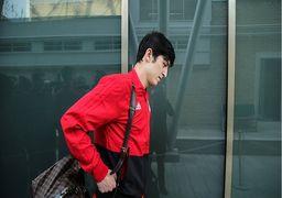 عذرخواهی ملی پوشان ایران از ژاپنی ها +عکس