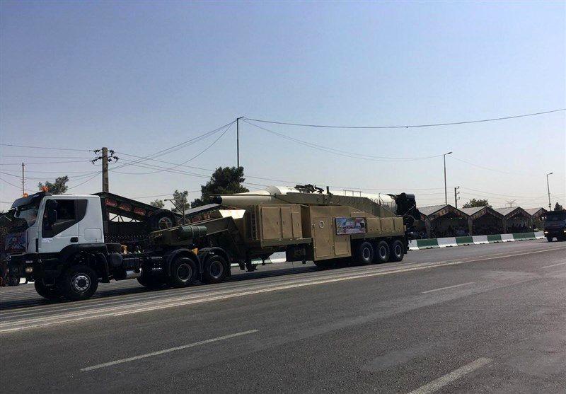رونمایی از موشک خرمشهر با سر جنگی جدید