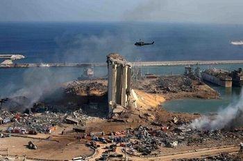 ایجاد حفره ای به عمق 43 متر در بیروت پس از انفجار بزرگ