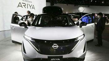خودروی الکتریکی نیسان با نام «آریا» رونمایی شد