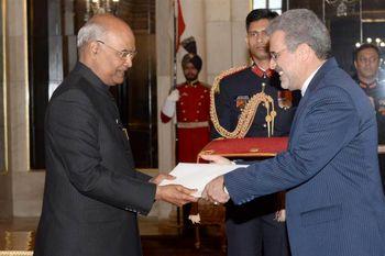 رییسجمهوری هند خواستار گسترش روابط اقتصادی با ایران شد